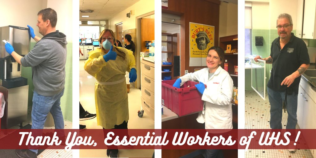 On this #ThankfulThursday, we thank our hardworking onsite staff - our maintainers, nurses, providers, CMAs, laboratory staff, pharmacists, and many more. You are the UMass community's #HealthHeroes! #UMassBuildingBridges <br>http://pic.twitter.com/pMF8FJzF9R