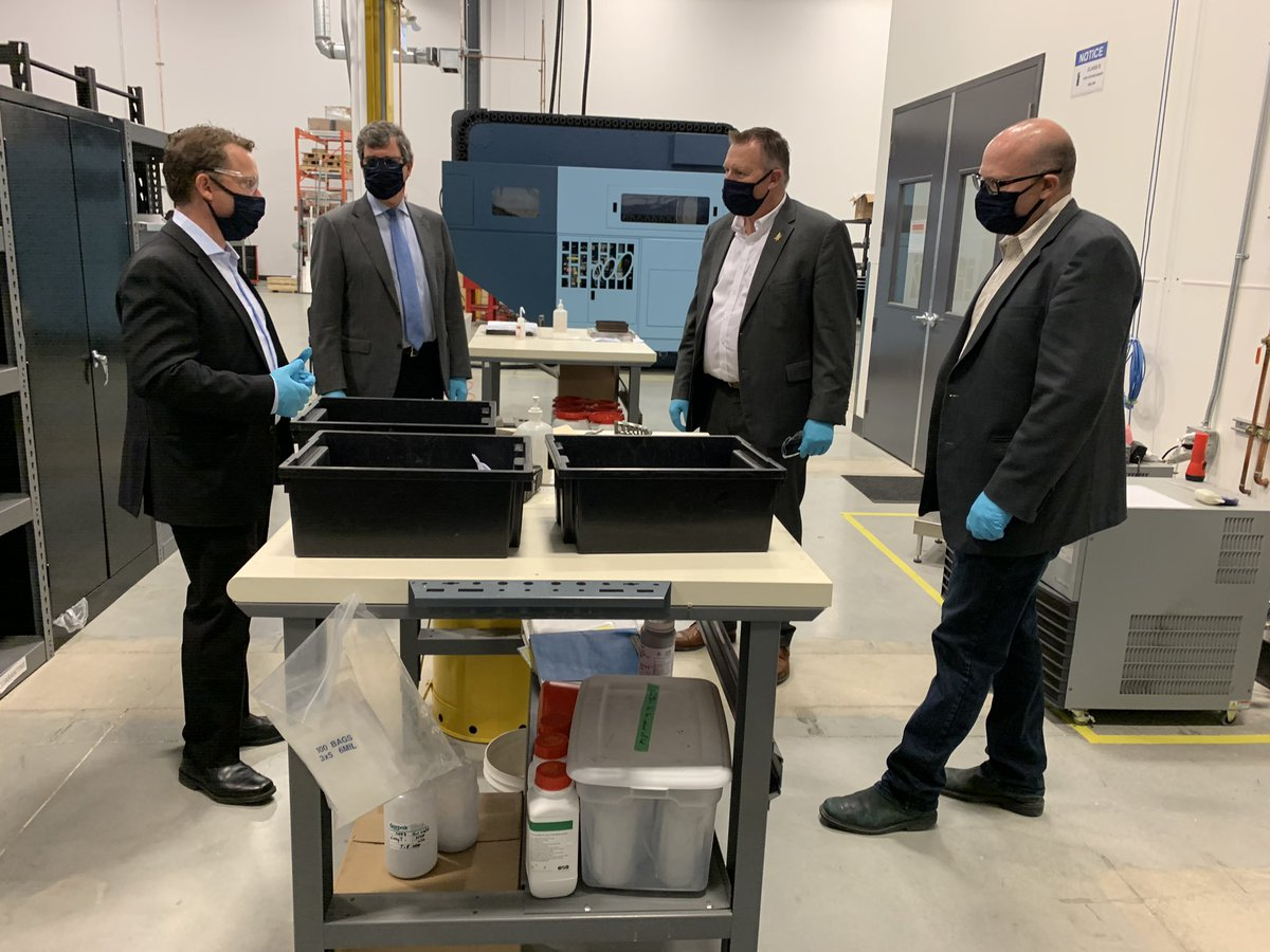 test Twitter Media - Had an amazing time touring @PrecisionAdm today. So glad to see made in Manitoba solutions. I was lucky enough to get to pour a silicon N95 mold myself! https://t.co/snvZ4UPpik