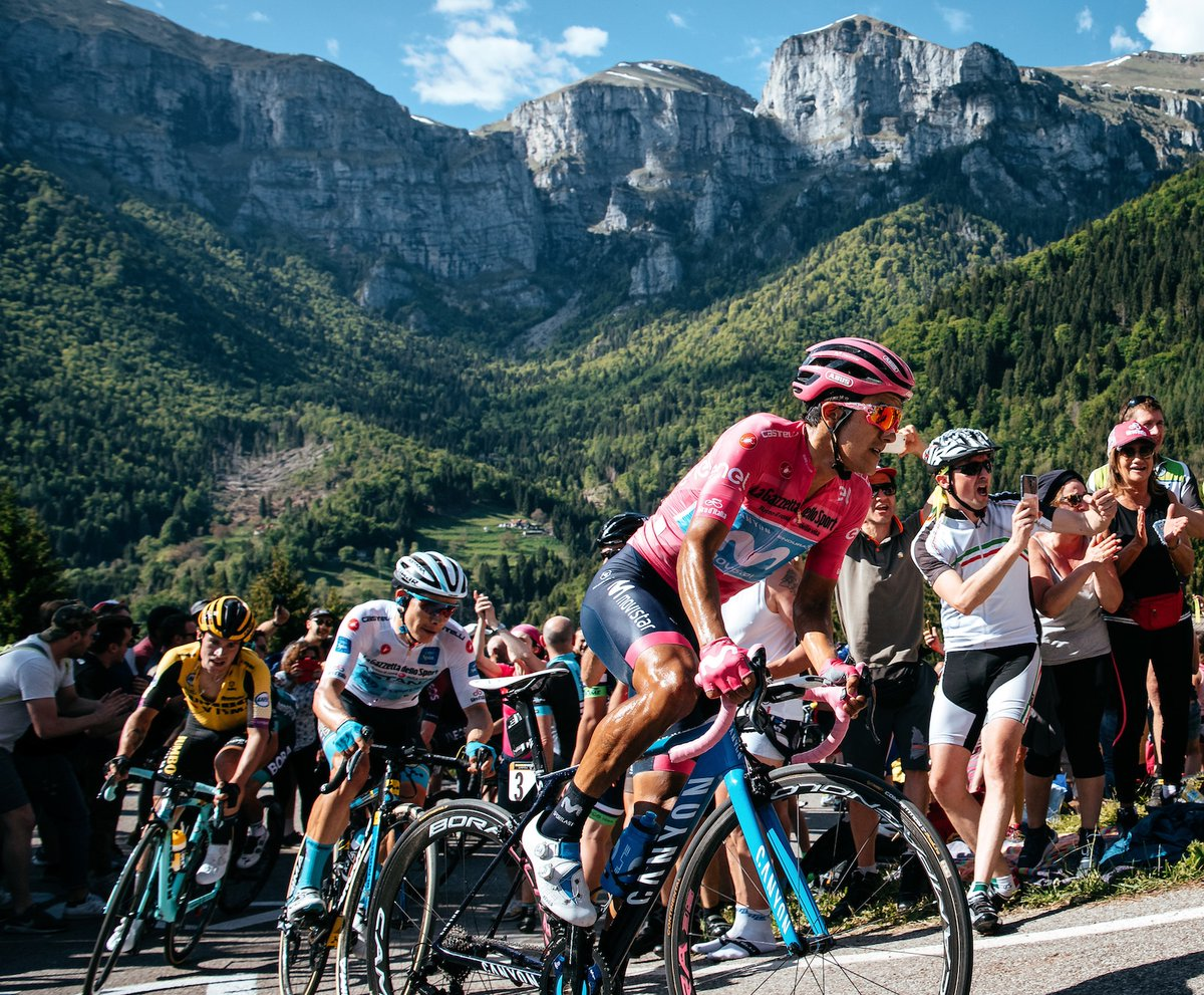 The 2019 Giro d'Italia was a three week Grand Tour cycling stage race that took place mainly in Italy between 11 May and 2 June 2019. The race was the 102th Edition of the Giro d'Italia.   . . . #cycling #cyclingshots #cyclingphotography #giroditalia2019 #giroditalia #roadbikes https://t.co/jxsjTQ3bu0