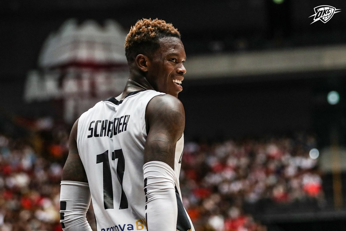 """Ten years after playing for the team, Dennis Schröder becomes the club's main partner. 🇩🇪   """"𝘛𝘩𝘶𝘯𝘥𝘦𝘳'𝘴 𝘋𝘦𝘯𝘯𝘪𝘴 𝘚𝘤𝘩𝘳𝘰𝘥𝘦𝘳 𝘐𝘯𝘷𝘦𝘴𝘵𝘴 𝘐𝘯 𝘏𝘪𝘴 𝘍𝘰𝘳𝘮𝘦𝘳 𝘎𝘦𝘳𝘮𝘢𝘯 𝘗𝘳𝘰𝘧𝘦𝘴𝘴𝘪𝘰𝘯𝘢𝘭 𝘛𝘦𝘢𝘮"""" 🔗