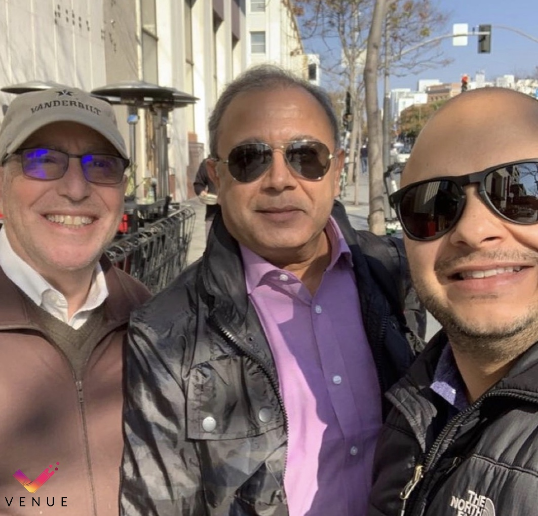 More of our incredible leadership team Cihan Fuat Atkin, Don Tannenbaum, and Prashant Shah getting us closer to launching #Venue!   #xcinex #theatricalwindow #bestseatinthehouse #comingsoon #theatricalrelease #streaming #stayhome #boxoffice #ppvr #privacy #startup #live #concerts pic.twitter.com/XNREcTwjtV