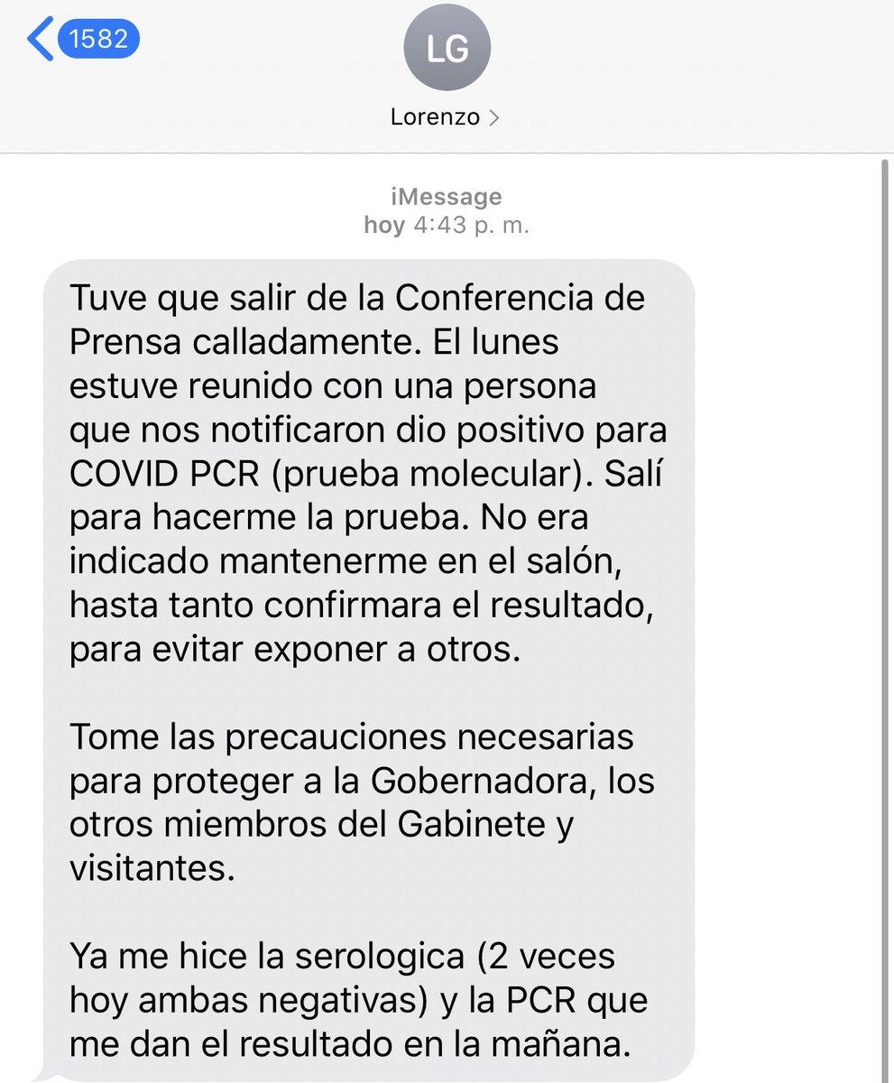 El secretario de Salud me escribió para explicar por qué se ausentó hoy de la conferencia de prensa de @wandavazquezg sobre la reapertura. Me ha autorizado a divulgar el mensaje.