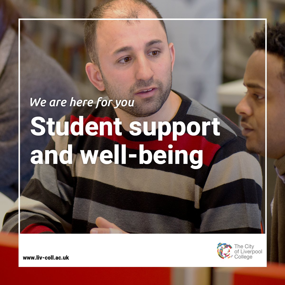 We want you to know that access to our support services is still available, online or over the phone, whilst the college is closed. We are here for you. ❤️  Find out more: https://t.co/w9uxtV6oBN  #ForTheFuture https://t.co/qanHPOzrnS
