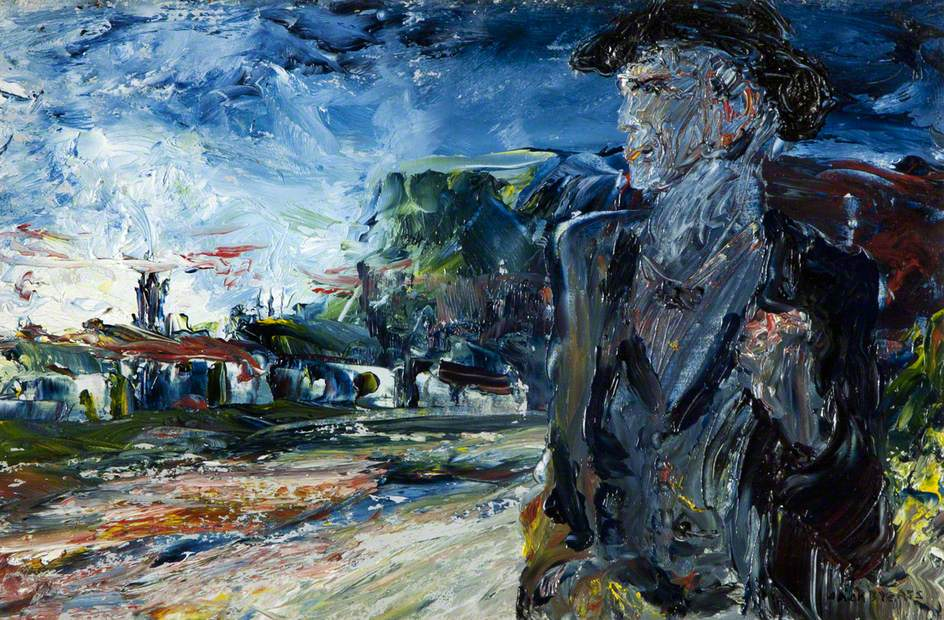 Jack B. Yeats (1871-1957) Return of the Wanderer (n.d.). Yeats never gave explanations; allowing the viewer to create one's own meaning. He famously depicted the outsider, the unsettled: the gypsy, the circus performer, the wanderer, in his own unique, poetic way.