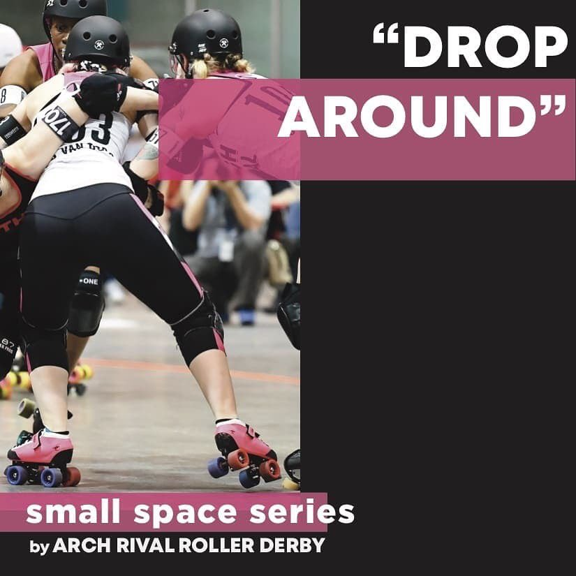 """It's THURSDAY and that means  #Archsmallspaceseries, where our Arch Rival skaters teach you new skills!!   """"Just because you can't go anywhere doesn't mean your feet can't move!""""  Today: Drop Around with Loki Doki!   #derbytwitter #wftda #archrival #skatedrills #stl https://t.co/a3Aqnlf4KP"""