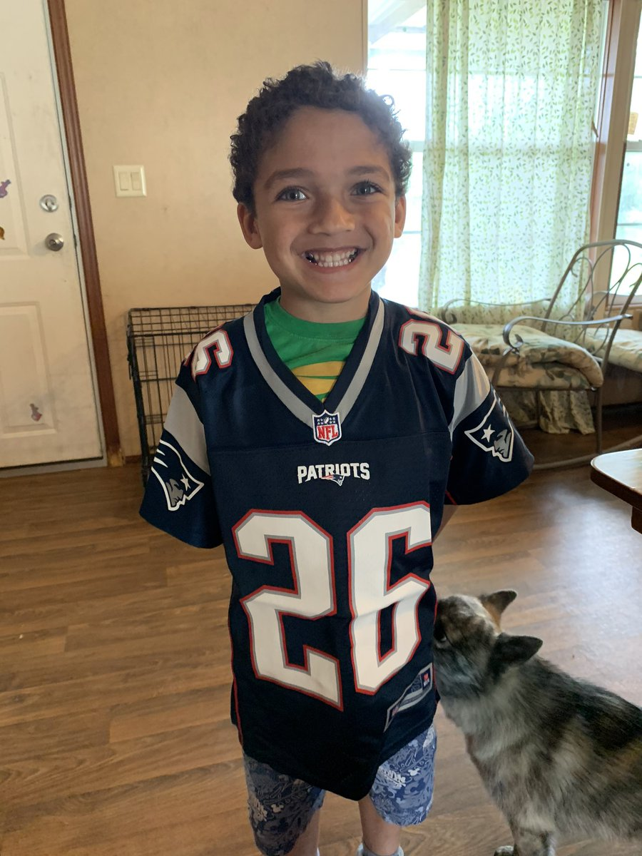 @Flyguy2stackz my son begged for this jersey and look at that smile lol