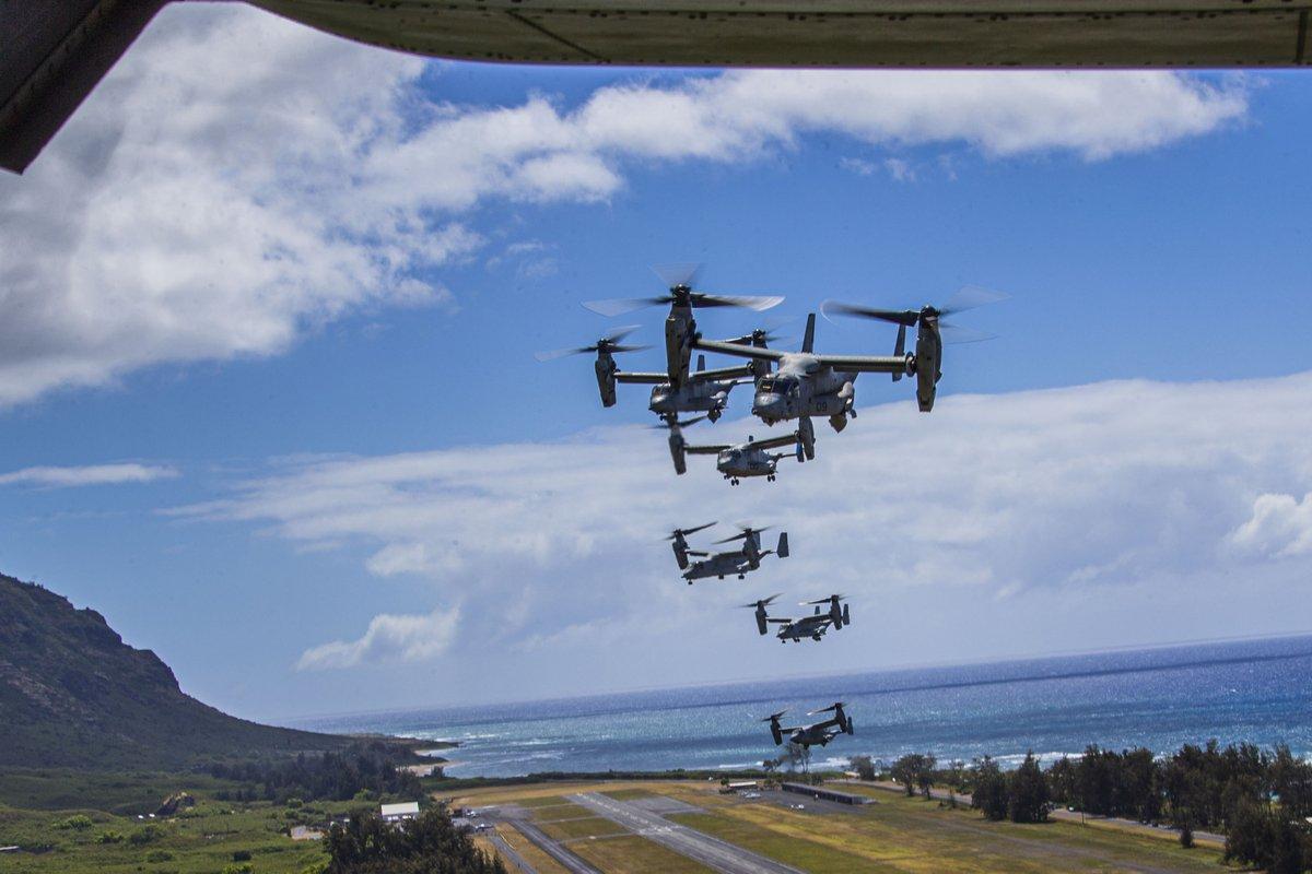 U.S. Marines • Flight Training • Marine Corps Air Station Kaneohe Bay • Aug 25 2020