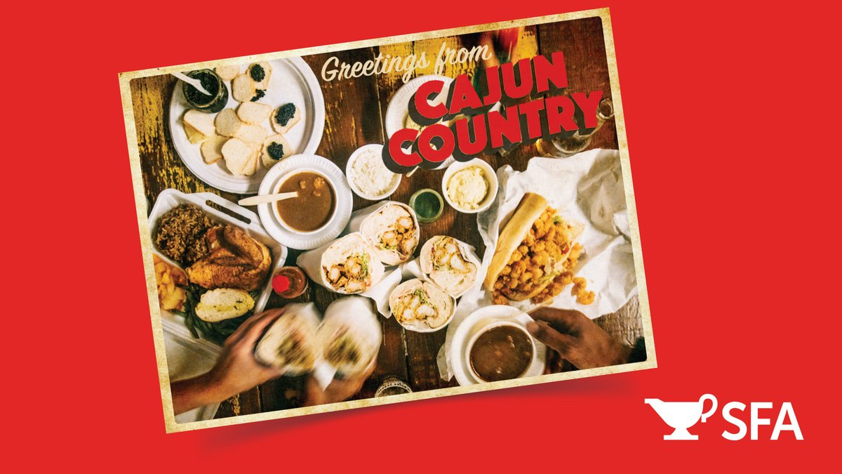 We have just the thing to feed your wanderlust! @southfoodways created a Virtual Field Trip Planner around #CajunCountry. Tune in to the #GravyPodcast every Thursday for an audio tour of the diverse foodways of south Louisiana. Road trip anyone? bit.ly/3g9aKZ7