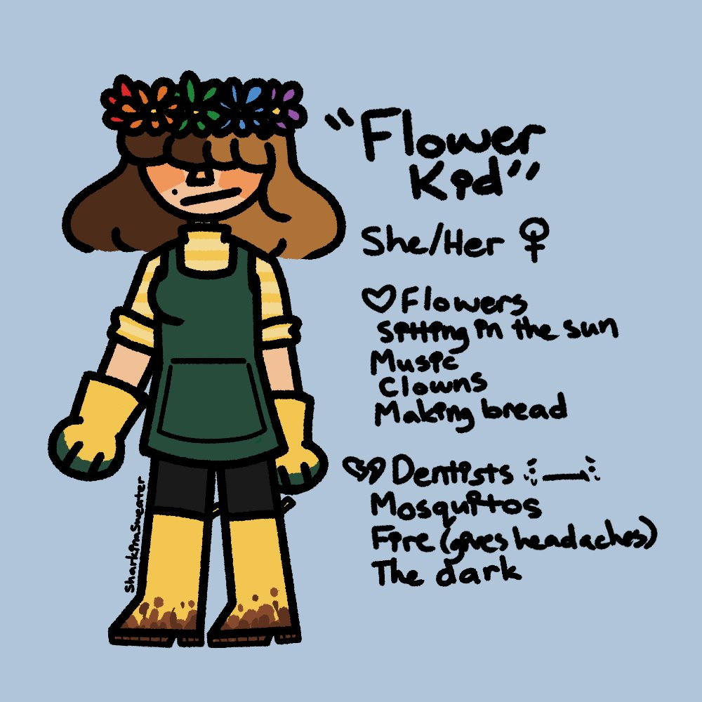 been thinkin bout #smileformegame so i decided to make a flower kid self insert since cringe is dead and cant get me <br>http://pic.twitter.com/qcccq8sith