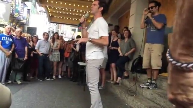 Whos been doing #Hamilton choreography while at home? Today were looking back at the day that the man behind the moves took the stage at a #Ham4Ham lottery. Give it up for our choreographer, @ABlankenbuehler!