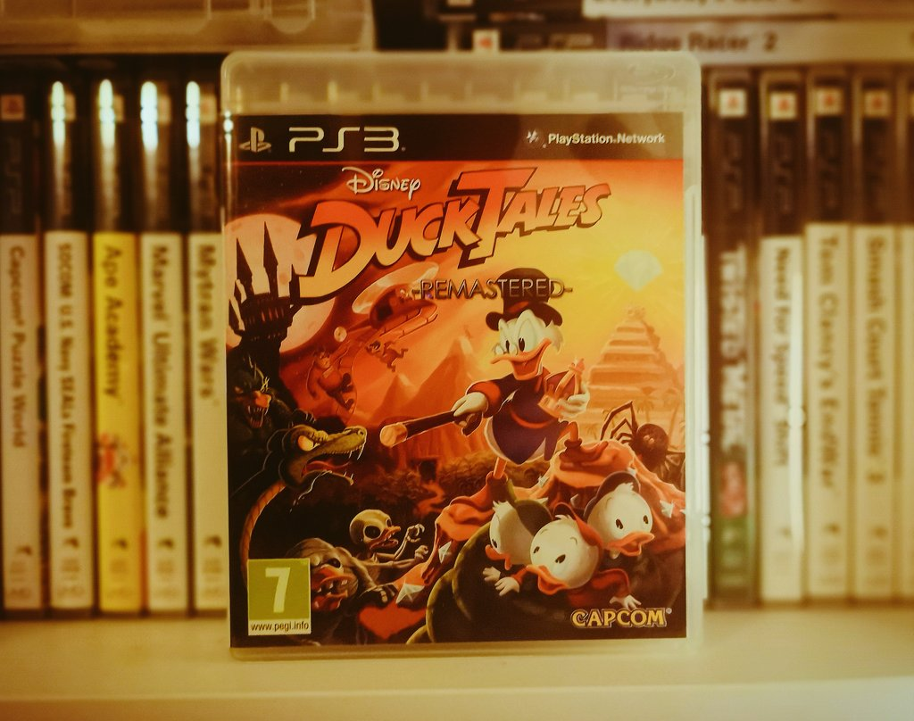 A late #PS3sDay with Ducktales Remastered. I didn't play much of the original game, but I thought this was a solid remake by WayForward. https://t.co/e4aKSUvvHP