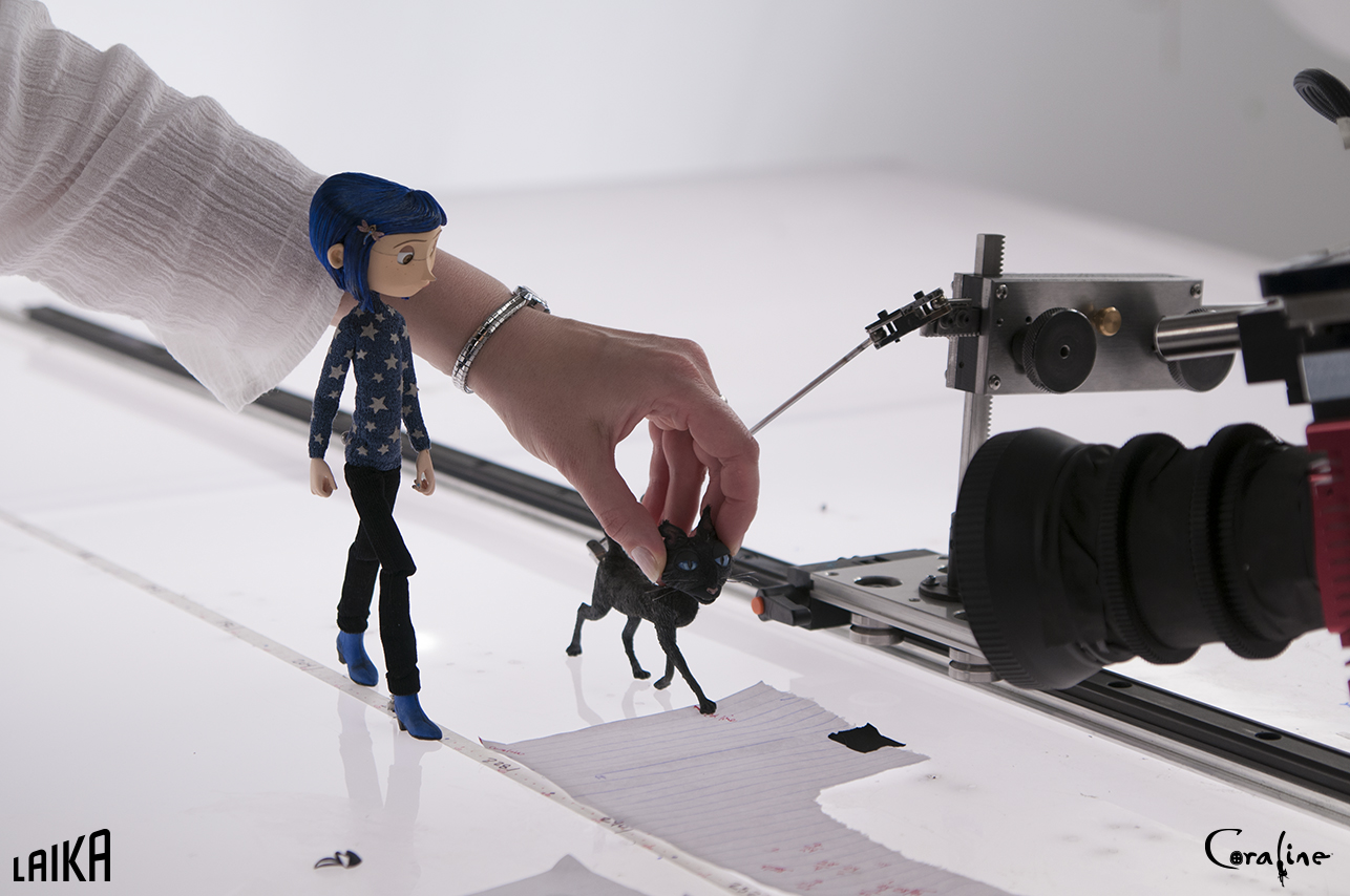 Laika On Twitter Taking Coraline And The Cat On An Endless Walk In The Other World Tbt Bts