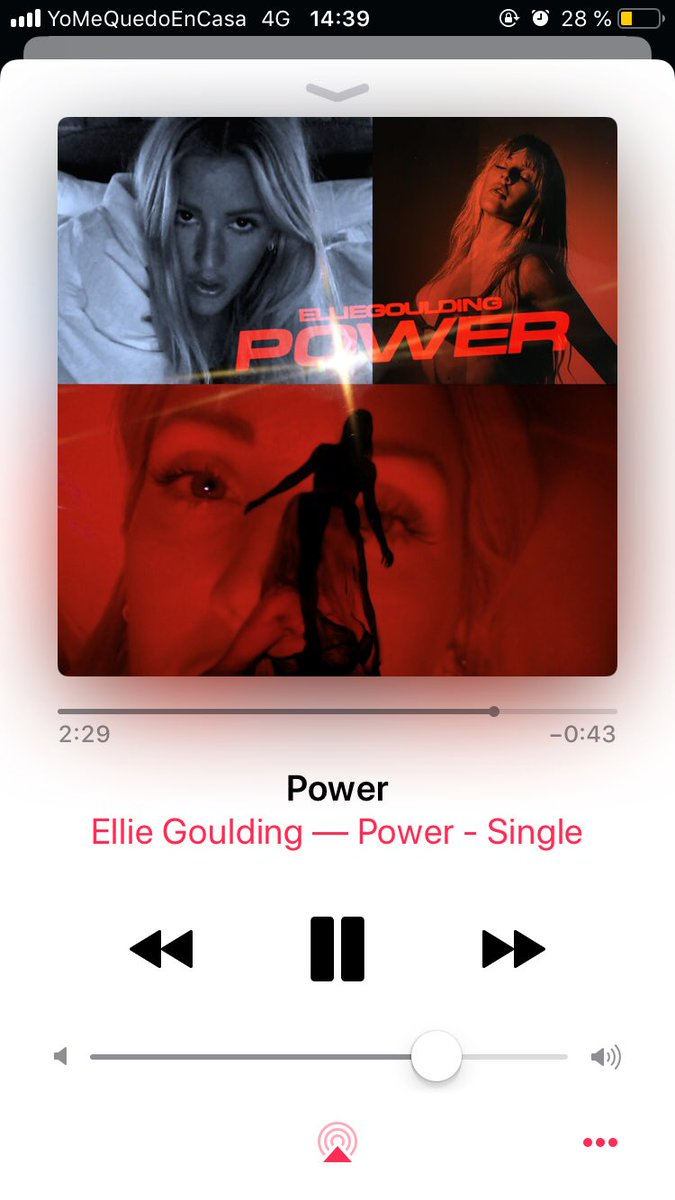 A BOP ELLIE YOU DID THAT #POWER pic.twitter.com/ItMM1M96S9