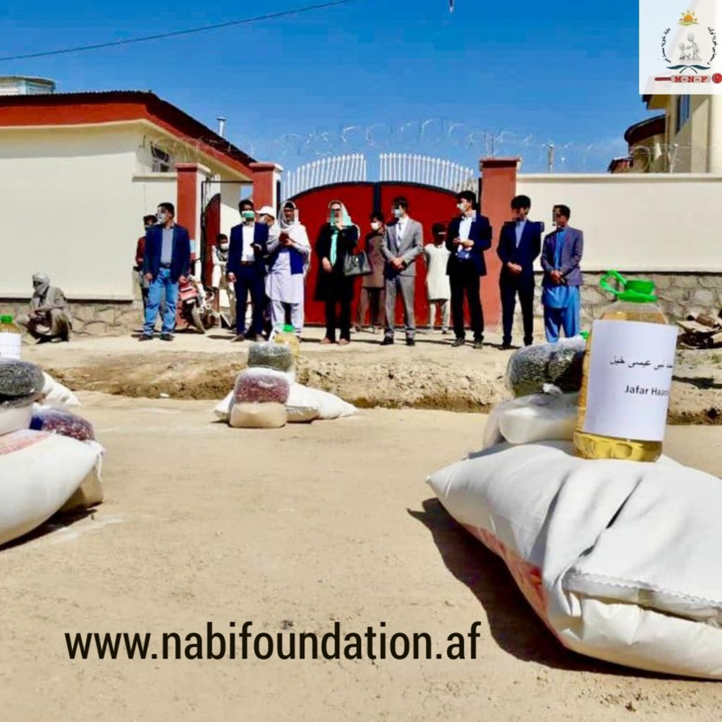 During this hard time I am very fortune to help our countries fellow at MNF.  Today, we have provided120 impoverished families from Dai Kundi, Logar and Paktia one month's food expenses.Each province was allotted to enroll40 families in this program.@afghcricket @IsmailAhmadza20 https://t.co/xMB0TYyJgd