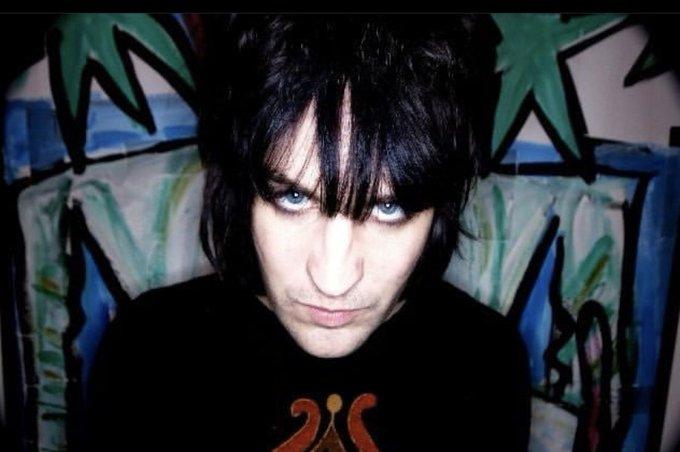 Happy birthday to my goth bf, Noel Fielding