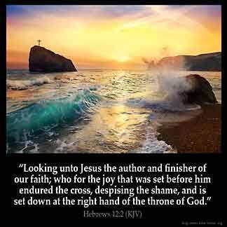 Keep Your Eyes Fixed On #JesusChrist