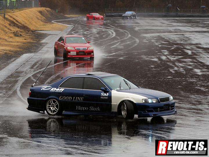 [Event] #斜流夢祭 3Rd. [Car] #Toyota #Chaser / #Mark2 / #Nissan #silvia  #Drift  #WetDriftpic.twitter.com/cHBkoUmDAy