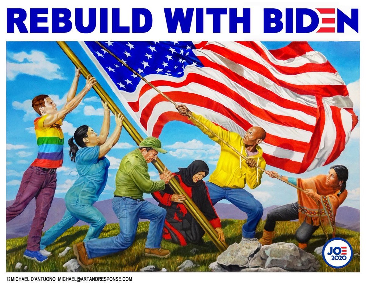 After the Democrats win back the White House, retake the Senate and increase our House majority in November, our country can finally begin to #RebuildWithBiden.