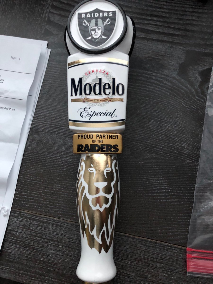 Installing these very soon. Can't wait to break em in. We're going to need some help. #RaiderNation #Modelo<br>http://pic.twitter.com/IYsC7749Ix