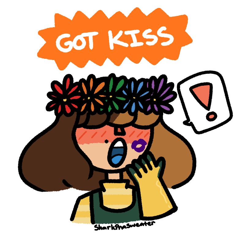 jerafina: gives kiss she: pog #smileformegame <br>http://pic.twitter.com/qhgSCSZBA0