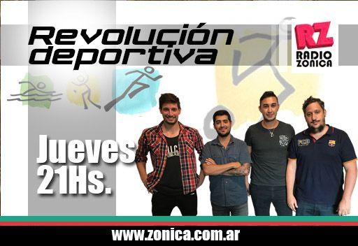#AIRE #RadioZonica #GrupoZonicaEnCasa  Ya no importa qué día es. Ingresá  AHORA a http://www.radiozonica.com.ar y escuchá  #RevolucionDeportiva.  #GrupoZonicapic.twitter.com/JFY56eWwX9