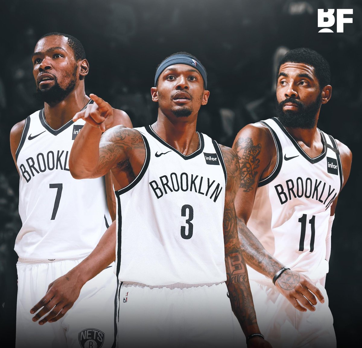 The Brooklyn Nets had internal discussions on trade options for Bradley Beal.   (per @sbondynydn) https://t.co/3kOr9mGXVf