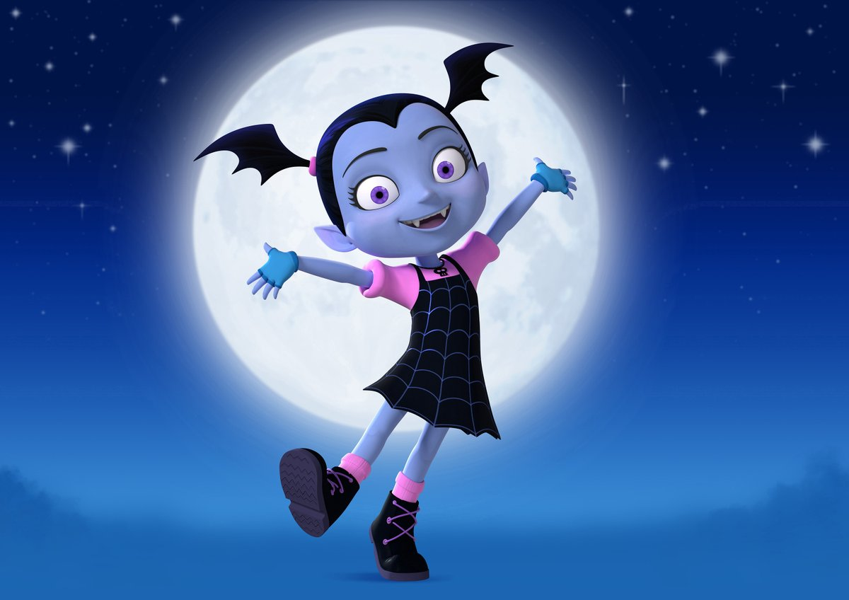 Congrats to all those who create TV #VAMPIRINA for two 2020 Emmy nominations--OUTSTANDING PRESCHOOL CHILDREN'S ANIMATED SERIES and OUTSTANDING ORIGINAL SONG IN A CHILDREN'S, YOUNG ADULT OR ANIMATED PROGRAM. So happy for you! @chrisdocnee @ChelseaBeyl @koomandimond @BrownBagFilms<br>http://pic.twitter.com/V0g3Mc2ixv