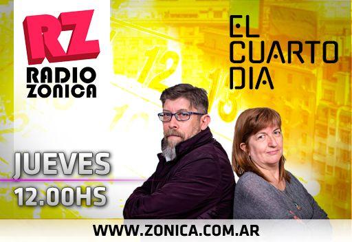 #AIRE #RadioZonica   Estás escuchando #ElCuartoDia por http://www.radiozonica.com.ar / app: Radio Zonica.  #GrupoZonicapic.twitter.com/c2DPdL5p2i