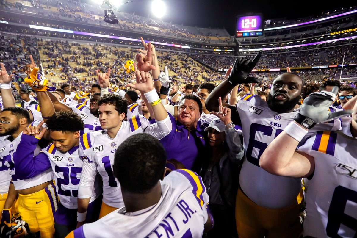 This Saturday tune in to hear the @LSUradio encore presentation of @LSUfootball in the @SEC title game vs Georgia. Re-broadcast starts at 2:30 on @eagle0981 the @LSUsports mobile app, presented by @BASF and via @tunein #GeauxTigers #LSU