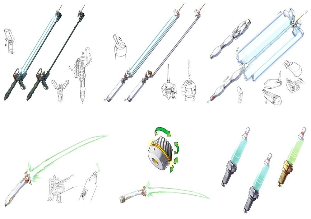 Every beam katana Travis Touchdown uses in No More Heroes <br>http://pic.twitter.com/r4Ivt2dyxy