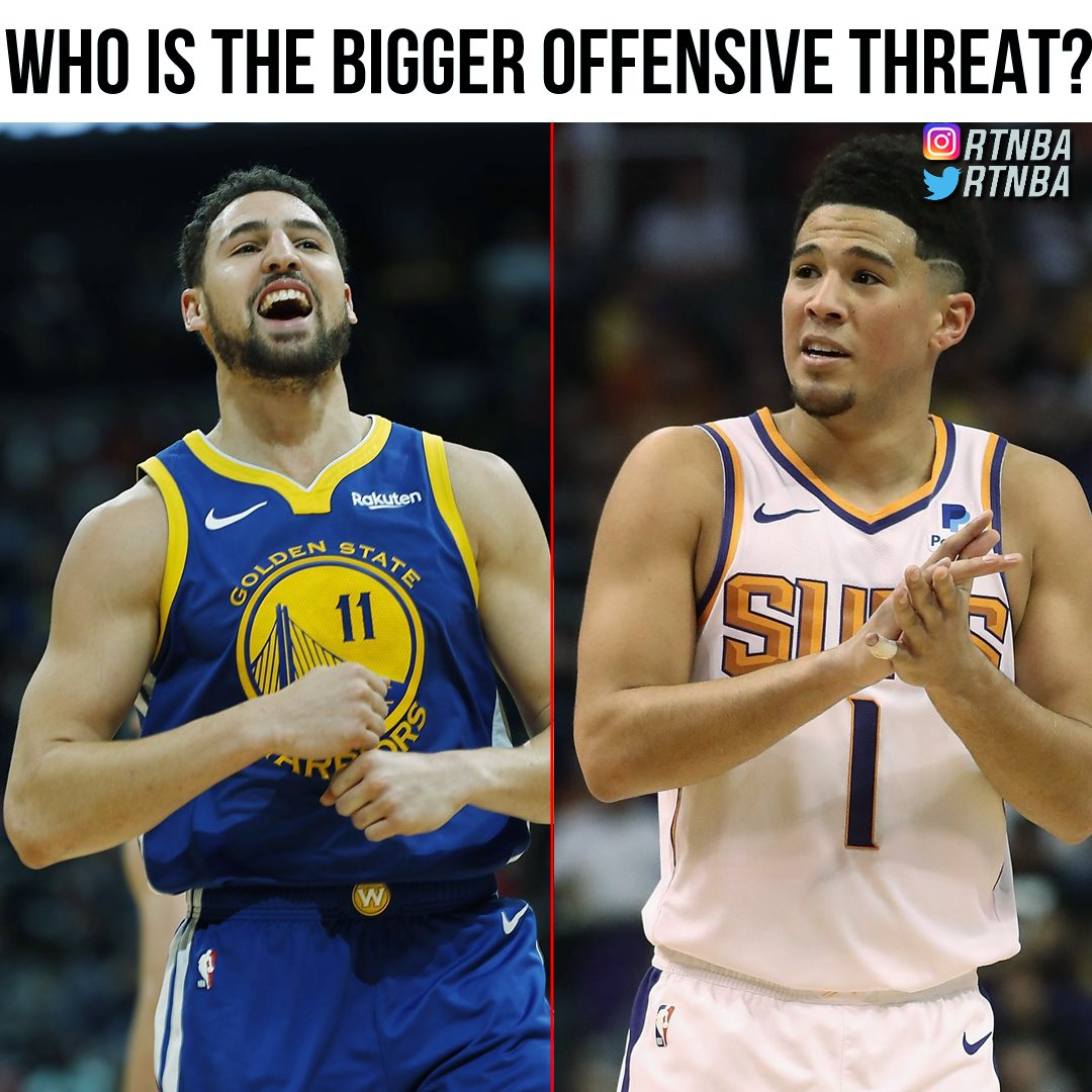 Klay or DBook? https://t.co/MMf07syo7x
