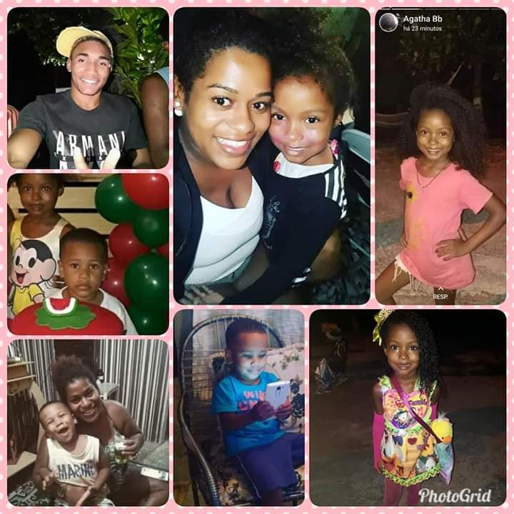 #feliz #dia #dos #afilhados ❤ #Dinda #ama #vcs😍 #lucas #manu #kaique