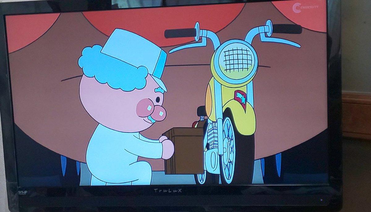 ジャム おじさん バイク