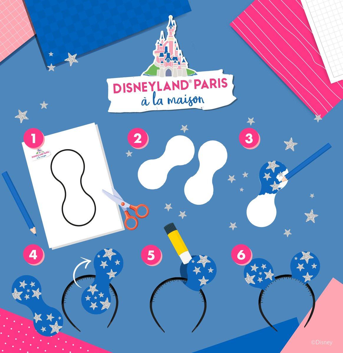 """Laissez votre créativité s'exprimer avec ces oreilles de Mickey personnalisables ! ✨ Quel sera votre style ? Retrouvez plus d'activités sur le site """"Disneyland Paris à la Maison"""": https://t.co/A60kwhnAjj https://t.co/UB7Hg4g410"""