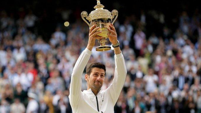 Happy Birthday to Novak Djokovic     x           x        x      x   The World No.1 is 33 today.