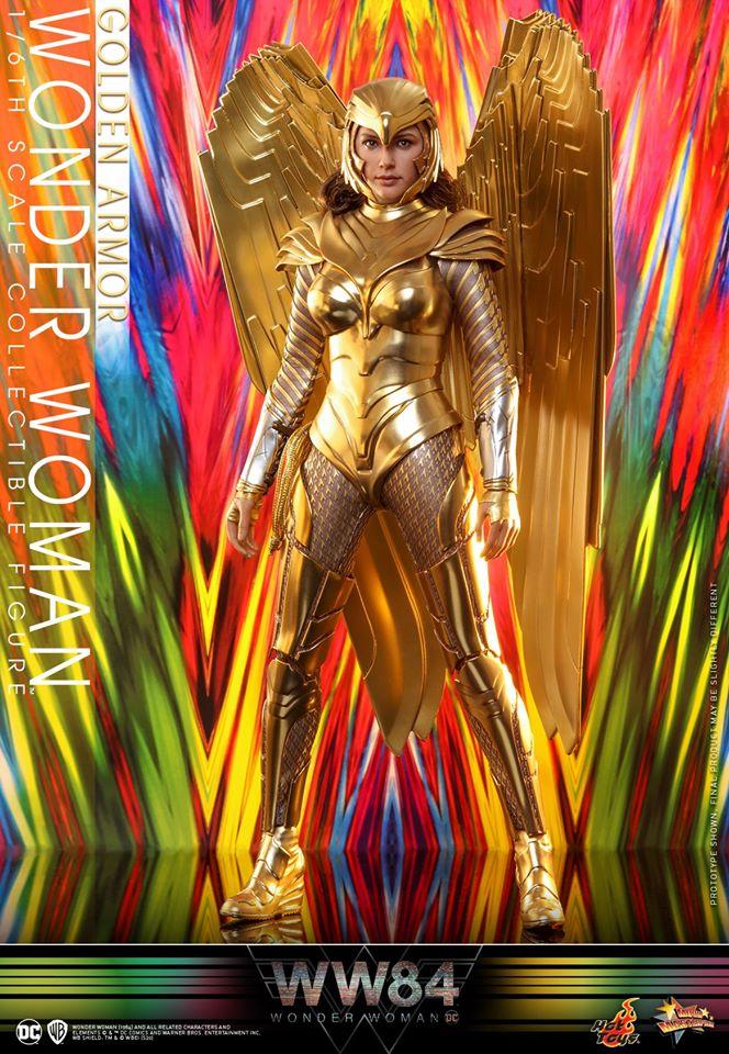 Golden Amazon #WonderWoman1984  #WW84  Hot Toys figure (Standard & Delux Edition)<br>http://pic.twitter.com/3vw8uvxGlr