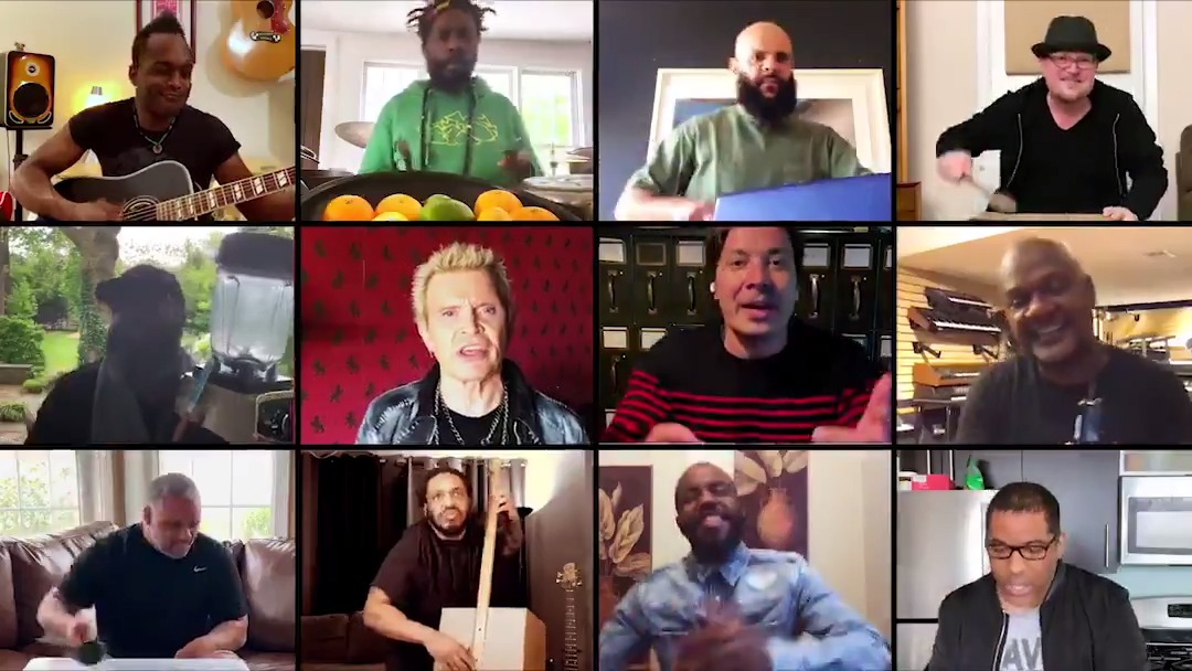 """""""Dancing With Myself"""" ft. @theroots, @BillyIdol, and you at home!"""