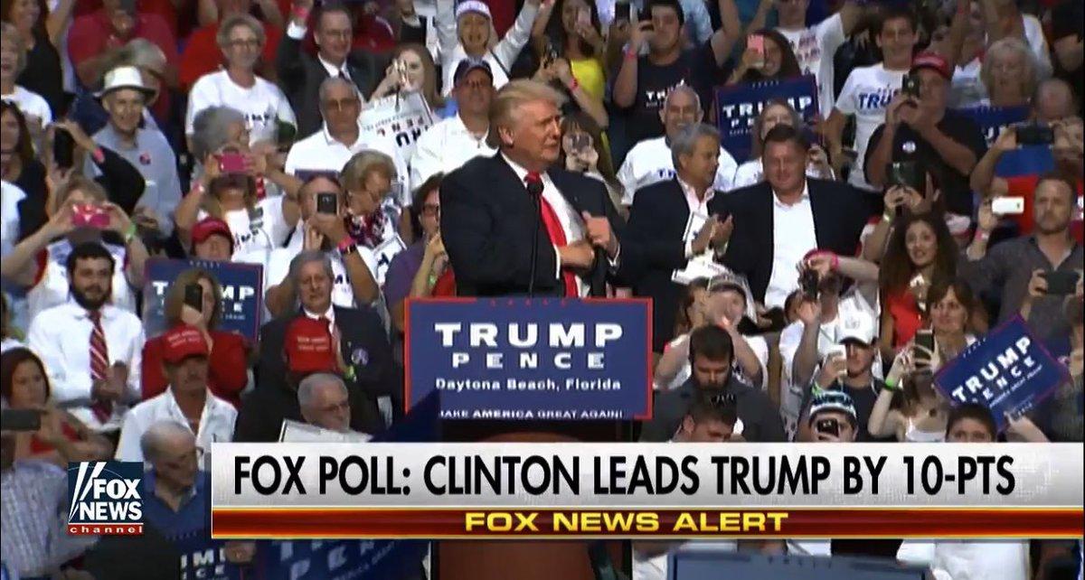 Fox News Poll #FlashbackFriday <br>http://pic.twitter.com/hxJdbsJNxb