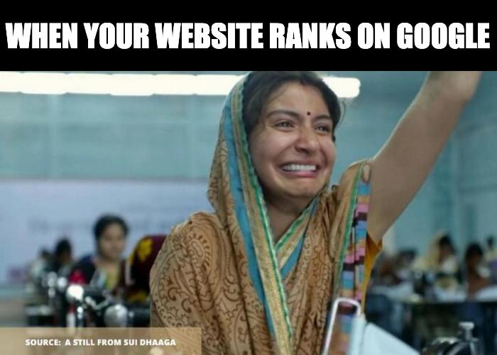 That's how much it means to be on the first page of #Google  #tgif #fridayvibes #fridayfeeling #fridays #fridayfun #meme #memes #bestmemes #memesdaily #jokes #memesrlife #humor #relatablememes #funnyposts #memetime #seo #SearchEngineOptimization #searchenginepic.twitter.com/G7vmKjVSZg