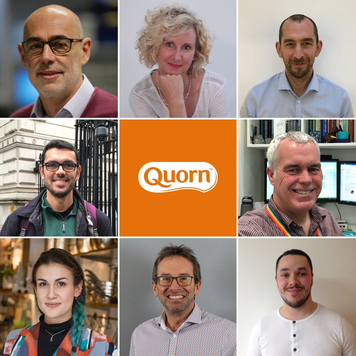 Did you know that we work with independent experts across all our nutritional research? You can meet the leading scientists at Quorn and the professional & academics we partner with on our dedicated nutrition website  #StrongerTogether 🧡💪