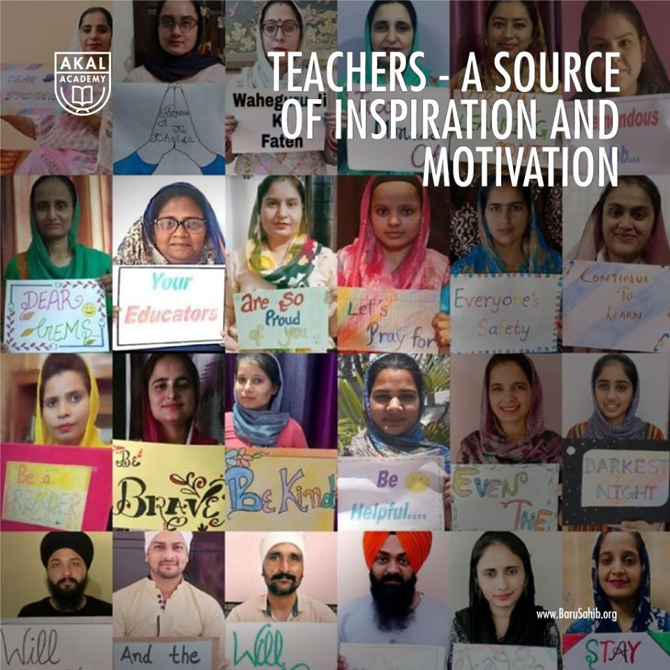 #IndiaLockdown #FightAgainstCovid-19 #AkalAcademy  Teachers - A source of inspiration and motivation  Teachers are not only educators but also great motivators.  https://t.co/XPynjVk9We https://t.co/ihqoGR5l4B