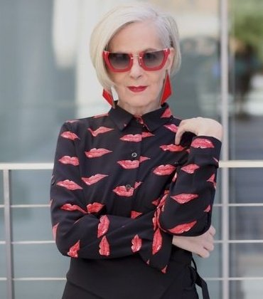 """""""I'm not 20.I don't want to be 20, but I'm really freaking cool.That's what I think about when I'm posting a photo."""" Model Lyn Slater, 65. Great attitude to life! Not every woman aspires to be 20 again, lets celebrate midlife wisdom, knowledge & experience. #FridayMotivation"""