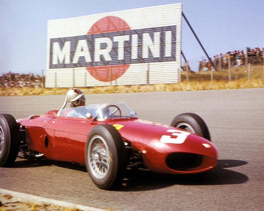 #OnThisDay in '61, at Zandvoort, in this Ferrari 156 'sharknose', Taffy von Trips won a GP for the first time, the first German so to do. He led every lap & was just 0.9sec ahead of team-mate Phil Hill at the end. #AnorakFact: for the first time in #F1 history there were no DNFs. https://t.co/5pN3eSqtSR