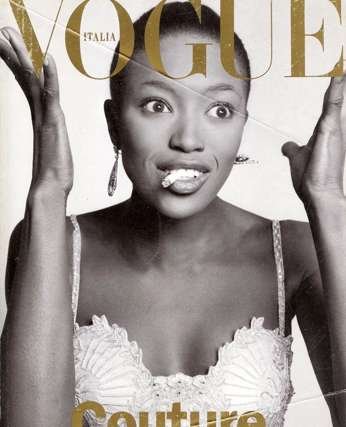 Happy birthday to the one and only, the iconic supermodel naomi campbell