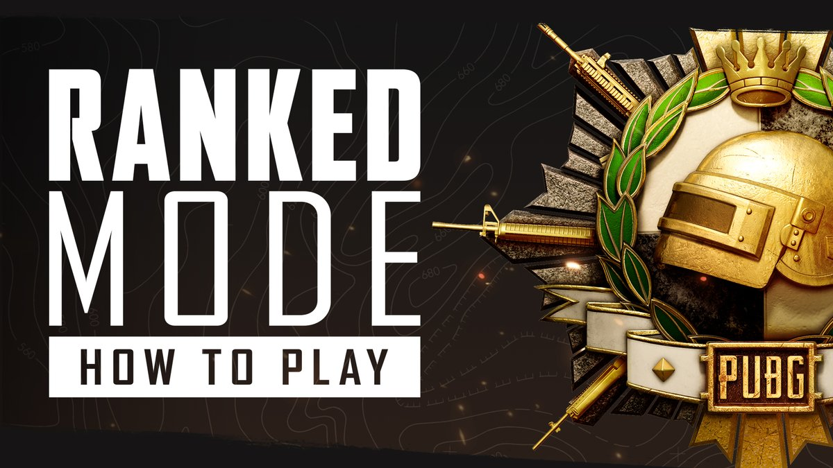 Want to dive into #PUBG #RankedMode but not sure where to start? Check out our How To video for everything you need to know about getting started in Ranked!