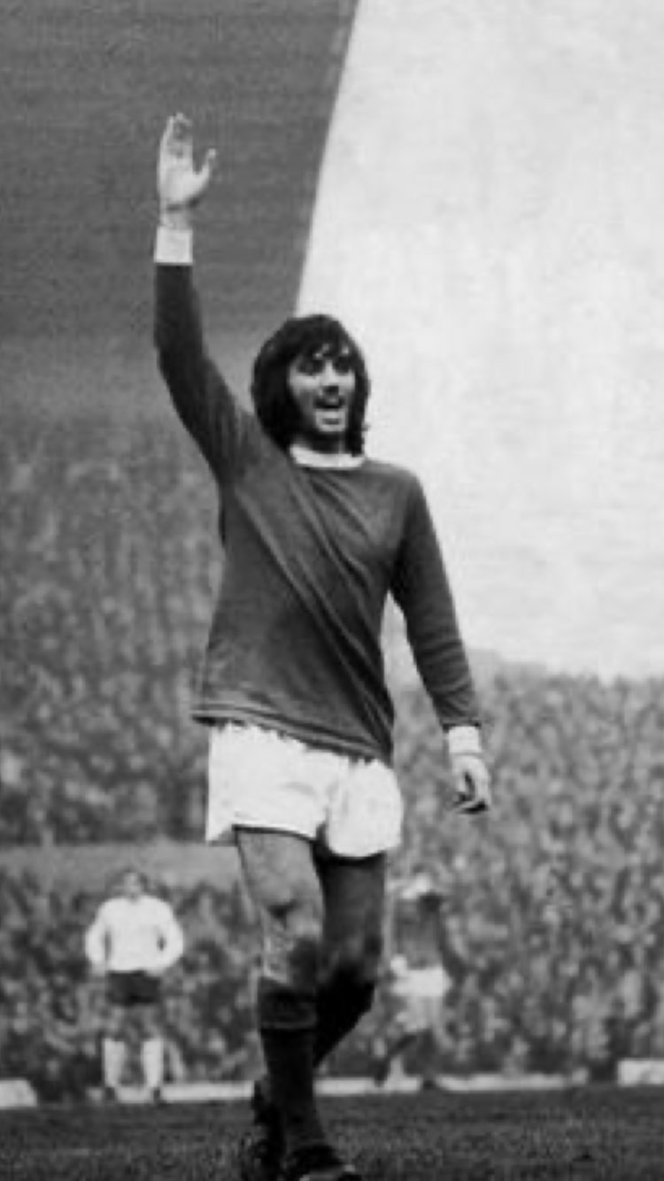 Happy Birthday to the football Genius that is George best      .