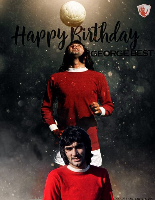 Happy birthday George Best, happy birthday Arturo vidal ak Kyle Bartley current team Westbrom