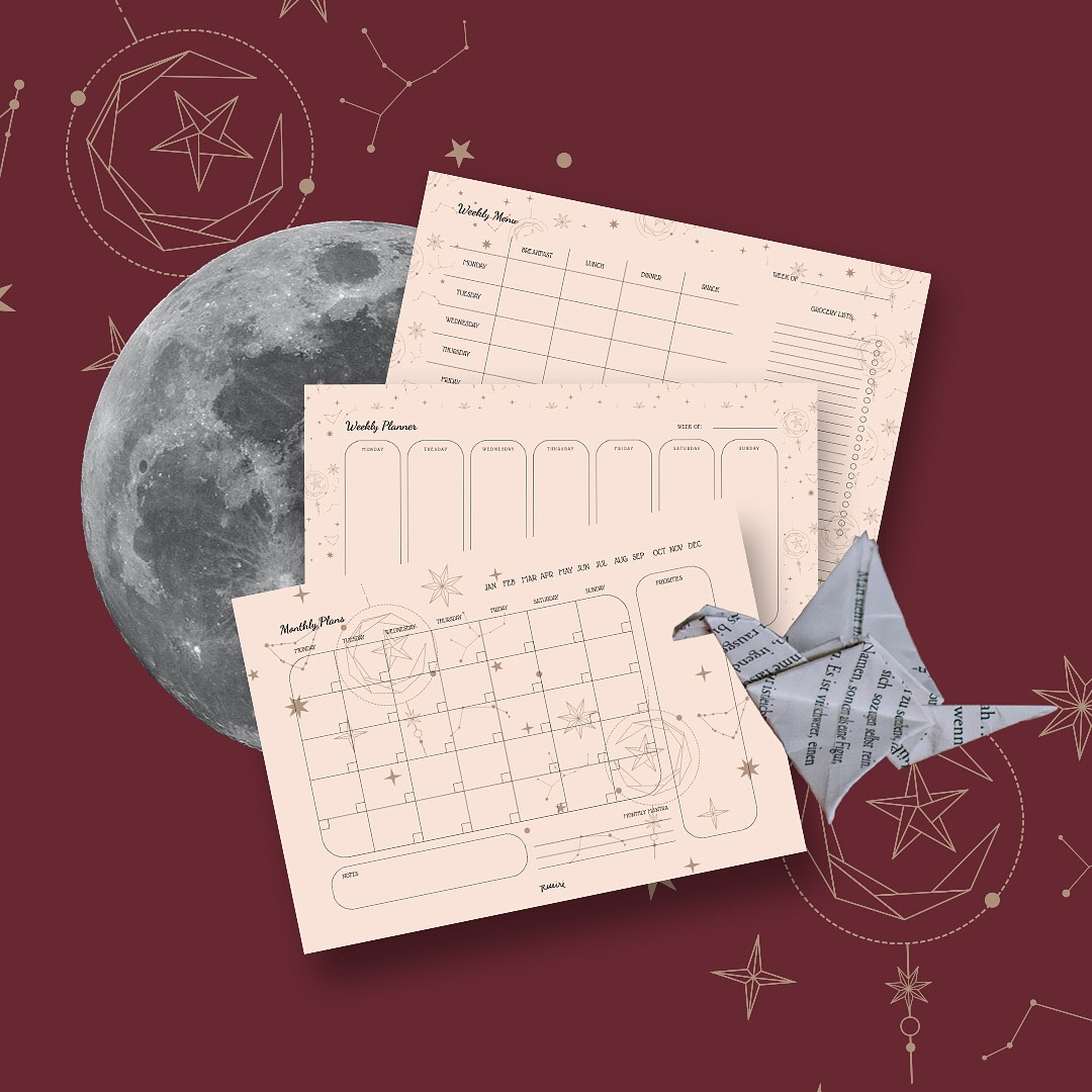 Hey Moon Child! Have you ever wonder about the #universe?  Let us tell you a story behind our inspiration.   Follow us on instagram http://www.instagram.com/reseire.ph   #printables #printableplanner #origami #moonchild #star #moon #lifestyleguide #dailyplanner #weeklyplanner #todolistpic.twitter.com/rOC3DtD8EB