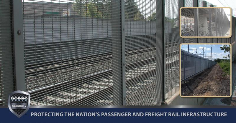 AMICO Security's #AMIGUARD® #PerimeterSystem was designed for this level of security in creating the deterrence & delay in breaching the barrier to gain access to the rail right of way. For product details visit➡️ https://t.co/6ZwBiawSfS.  Follow us➡️ https://t.co/ahisgafDxb. https://t.co/frDfIebfjv