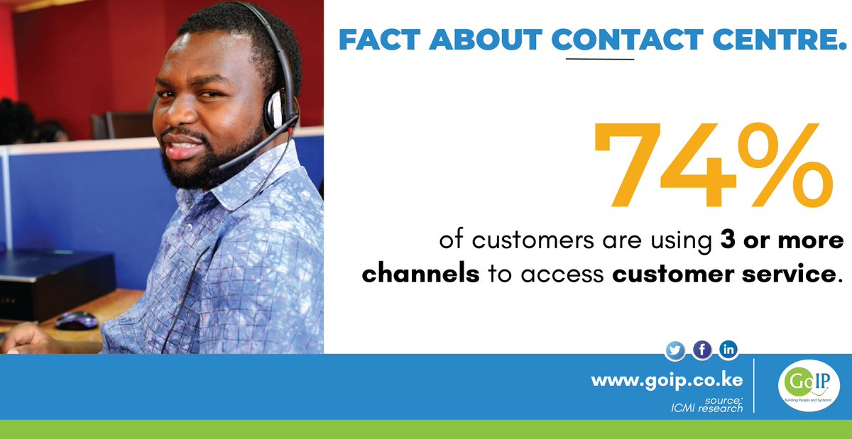 At GoIP .we provide customer experience solutions. Visit our website on http://www.goip.co.ke  #GoExperience #CustomerExperience #CustomerService pic.twitter.com/AFb9oaOET5